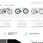 Loja de Bike e acessórios 2